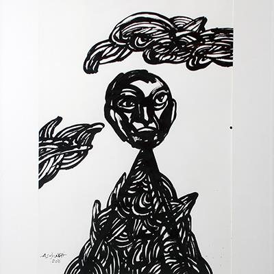 Amir Soghrati | Acrylic on Paper | 68 X 48 cm | 2,000,000 T, %30 discount for Firefly (1,400,000 T