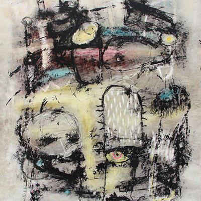 علی معتمدیان | ترکیب مواد روی مقوا | 50 × 70 سانتیمتر | 1395 | قیمت 1,500,000 تومان، با 30% تخفیف در نمایشگاه شبتاب 1,050,000 تومان