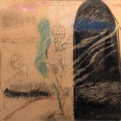 علی جدی | مداد روی تخته | 60 × 60 سانتیمتر | 1380 |  | قیمت 2.500,000 تومان