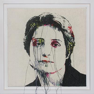 Rozita Sharafjahan | Digital Print and Sew on Fabric | 40 X 40 cm | 2016 | 5,000,000 T, %30 discount for Firefly (3,500,000 T)