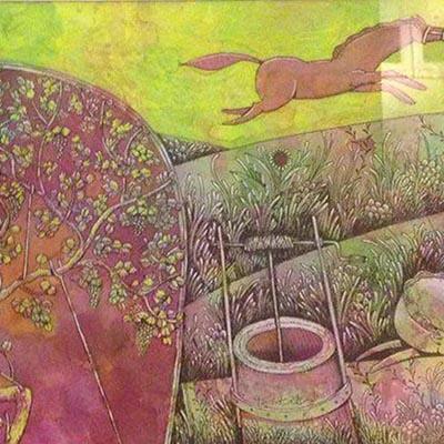 کمال طباطبایی | ترکیب مواد روی کاغذ | 45 × 23 سانتیمتر | 1393 | قیمت 1,800,000 تومان، تخفیف در نمایشگاه شبتاب 1,200,000 تومان  - فروخته شد
