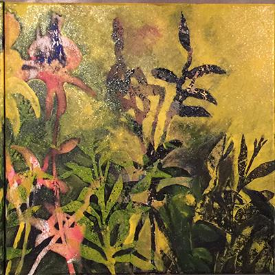Elaheh Moghadami | Acrylic on Canvas | 40 X 120 cm Triptych | 2016 | 4,500,000 T, %30 discount for Firefly (3,150,000 T)