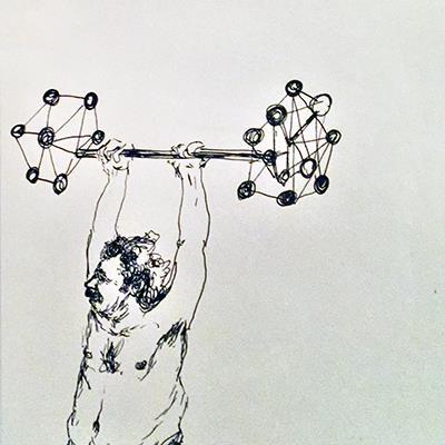 Ramtin Zad | Ink on Paper | 20 X 13 cm | 2015 | قیمت 1,500,000 تومان، با 30% تخفیف در نمایشگاه شبتاب 1,000,000 تومان  -  Sold