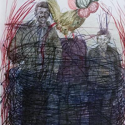 محمدرضا میرزایی | 50 × 70 سانتیمتر | قیمت 2,000,000 تومان، با 30% تخفیف در نمایشگاه شبتاب 1,400,000 تومان  - فروخته شد