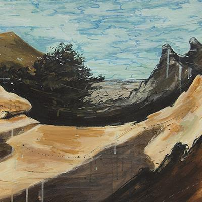 وحید دانائیفر | اکریلیک روی بوم | 70 × 90 سانتیمتر | قیمت 4,200,000 تومان، تخفیف در نمایشگاه شبتاب 3,000,000 تومان