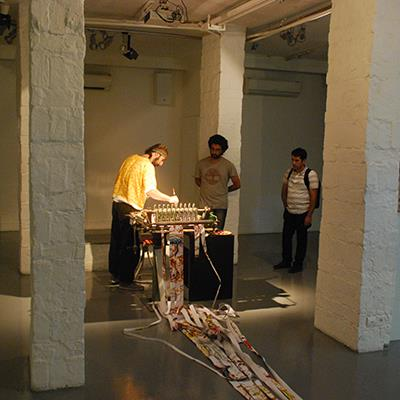 Performance, Installation | Ali Mirzaiee