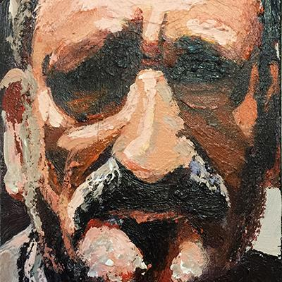 احمد مرشدلو | رنگ روغن روی بوم | 13 × 18 سانتیمتر | 1394 | قیمت 1,000,000 تومان، با 30% تخفیف در نمایشگاه شبتاب 700,000 تومان  - فروخته شد