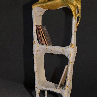 Untitled | Paper Mache | 30 X 58 X 134 cm