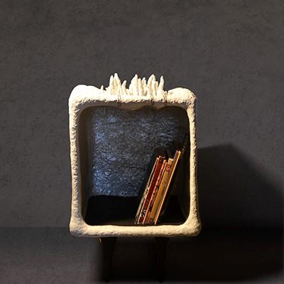 Untitled | Paper Mache | 40 X 40 X 63 cm