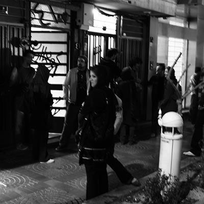 Audiovisual Performance   Bijan Mousavi, The 11, Mousa Kamali