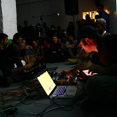 The 11 and Mousa Kamali   Audiovisual Performance