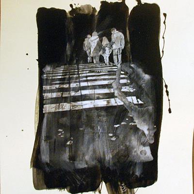 خسرو خسروی | اکریلیک روی کاغذ | 32.5 × 45 سانتیمتر | قیمت 2,000,000 تومان، با 30% تخفیف در نمایشگاه شبتاب 1,400,000 تومان  - فروخته شد