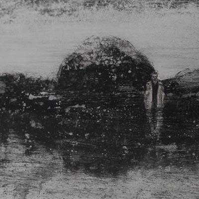 Mohamad Khalili | Ink on Paper | 17 X 23 cm | 1,200,000 T, %30 discount for Firefly (840,000 T  - Sold