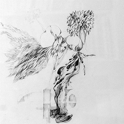 پویا آریانپور | مداد روی کاغذ | 38 × 48 سانتیمتر |  قیمت 12,000,000 تومان، با 30% تخفیف در نمایشگاه شبتاب 8,400,000 تومان