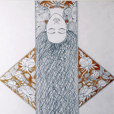 گیزلا وارگا سینایی | 54 × 74 سانتیمتر | قیمت 14,000,000 تومان، با 30% تخفیف در نمایشگاه شبتاب 11,600,000 تومان