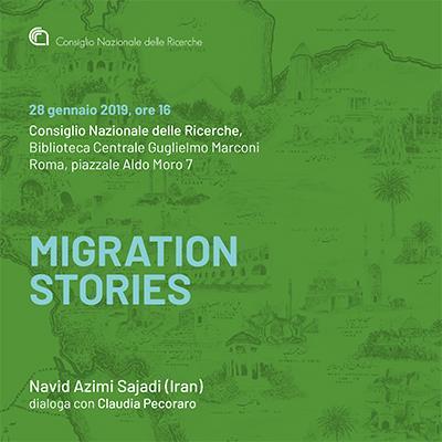 Migration Stories, Dialogue with Navid Azimi Sajadi
