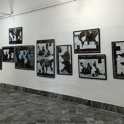 آثار غزال رادپی در سیزدهمین دوسالانه هنر هاوانا