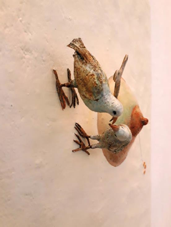نمایشگاه انفرادی صبا معصومیان در مونتزای ایتالیا