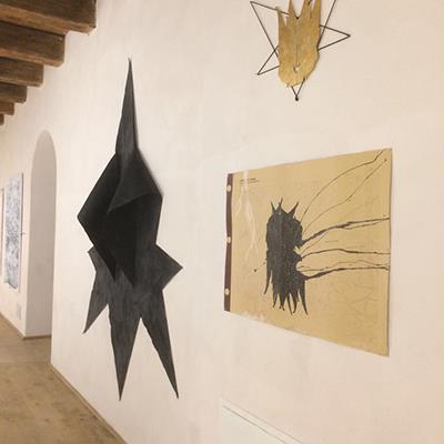 Navid Azimi Sajadi artwork in inauguration of BoCs Art museum in Cosenza